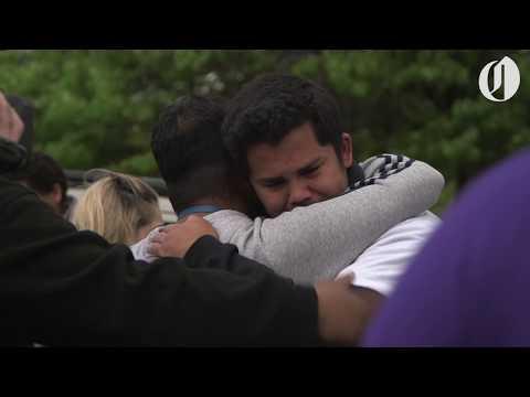 Parkrose students and parents reunite after gun incident