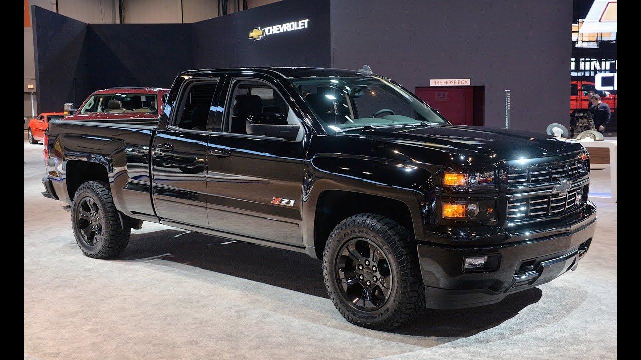 2015 Chevrolet Silverado Midnight Edition - 2015 Chicago Auto Show ...