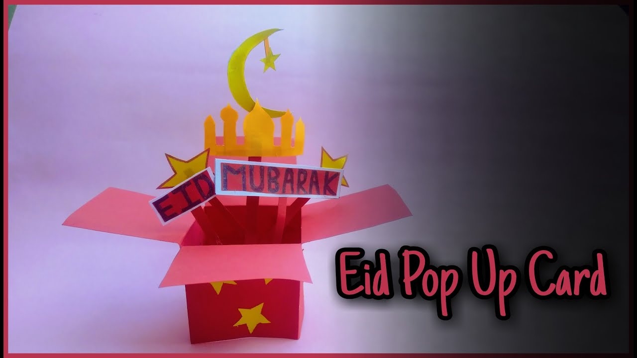 how to make eid cardcraftsimmi  youtube