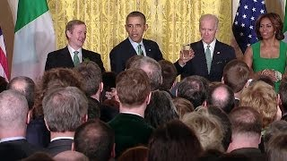 Remarks at the 2014 White House St. Patrick