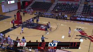 Highlights of Eastern Washington Women's Basketball vs. Brigham Young (Nov. 17, 2017).