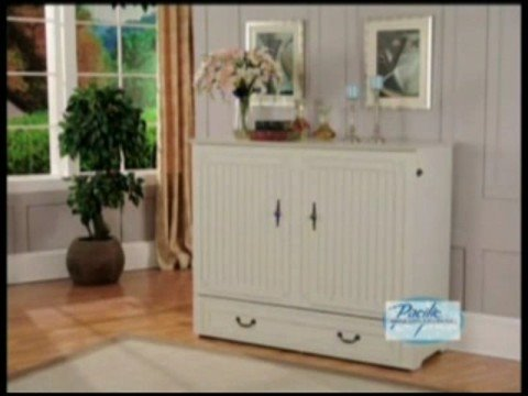 murphy chest bed - youtube