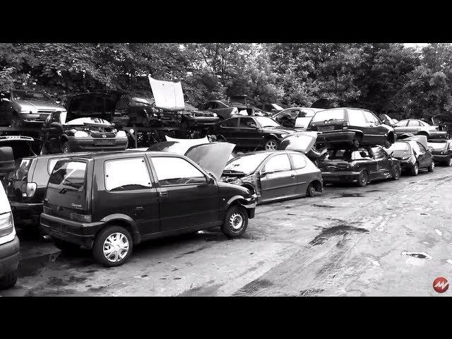 Auto ausschlachten - Schrottplatz Altautoverwertung - INSIDE Teil 2