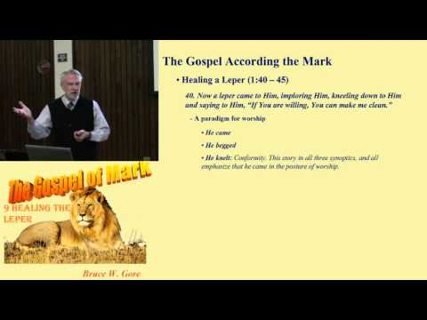 9. Jesus' Authority in Word and Touch (Mark 1:40 - 45)