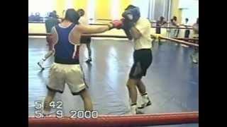 Чемпион Мира и России по боксу Гоголев Андрей-Сборная России 2000 год город Владивосток