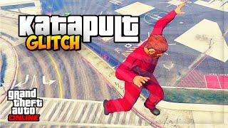 GTA 5 Online: SOLO KATAPULT GLITCH - Funny Moments Glitch | iCrimax