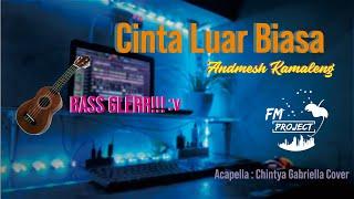 DJ Cinta Luar Biasa | Slow Remix FM PROJECT Bass Boosted