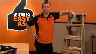 How To Build A Ladder Shelf | Mitre 10 Easy As
