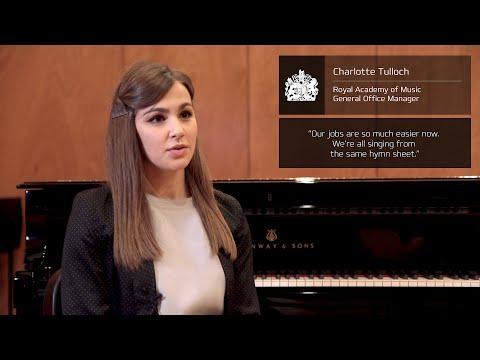 Customer Testimonials - Royal Academy of Music