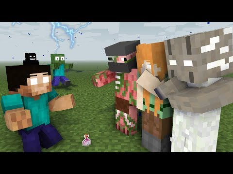 MONSTER SCHOOL : BEST HEROBRINE ALL EPISODE - Minecraft Animation