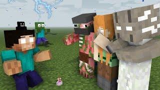MONSTER SCHOOL : BEST HEROBRINE ALL EPISODE - Minecraft Animation