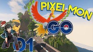 PIXELMON GO EP 1 Francais Multi : Mon Starter [ SERVEUR PIXELMON OUVERT ] 1.12.2