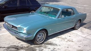 1966 Ford Mustang 289 A code for Sale Inspection part 1 of 4