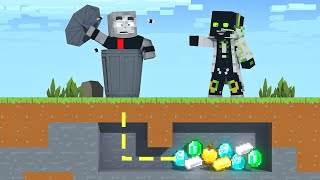 DER EKELHAFTESTE GEHEIMGANG in MINECRAFT?! - Minecraft Geheimgang [Deutsch/HD]