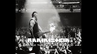 Rammstein live 05.07.2001 @ Warfield Theatre, San Francisco