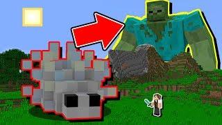 Minecraft Impossível #6: FUI ENFRENTAR O PRIMEIRO GIGANTE E OUTRO MAIOR APARECEU!