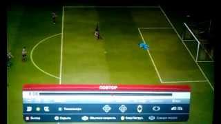 Вратарь бьет игрока Keeper kicks forward FIFA 13 ФИФА 13(, 2012-11-17T21:11:18.000Z)