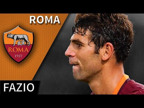 Federico Fazio • 2016/17 • Roma • Best Defensive Skills & Goals • HD 720p