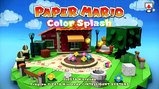 Paper Mario Color Splash #12X - FINALMENTE O FINAL! (SEM COMENTÁRIOS) - Wii U