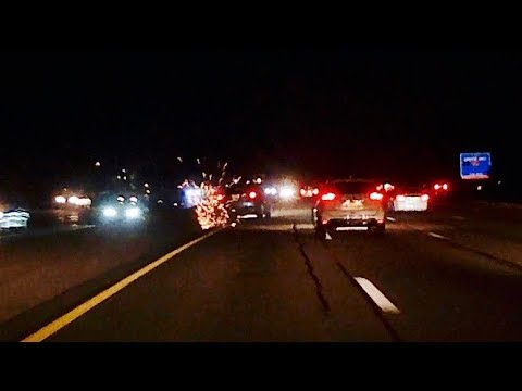 Car Crash Caught On Dash Cam Garden State Parkway North Bound 7 29 17 Youtube
