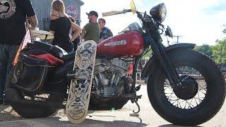 cycle source magazine ride in bike show broken spoke saloon laconia 2016 deadbeatcustoms com