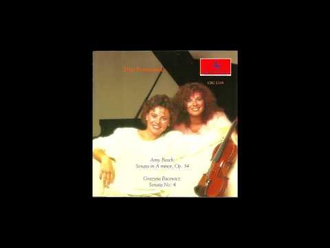 Sonata No. 4 - III. Scherzo - Bacewicz