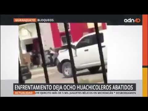 Enfrentamiento Entre Presuntos Huachicoleros Del Cjng Y Policias En