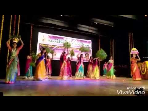 Bonalu Song Dance By Radiant School Students!!Choreography By Nithesh Gupta