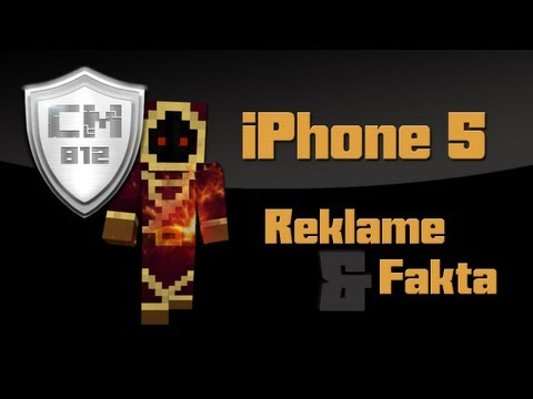 iPhone 5 - Reklame og fakta [Danish]