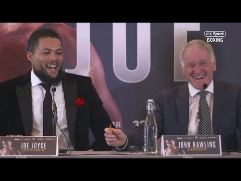 "Wilder? Fury? Joshua? Joe Joyce: ""I can block shots with my face!"" 😂"