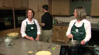 Maple Pie And Maple Granola With Mary And Sarah Schreindorfer Of Fairfield, Vt