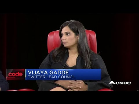 Download Twitter's Vijaya Gadde gives insight on meeting with President Trump