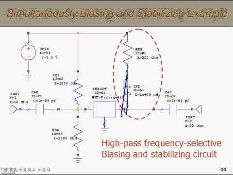 RF Amplifier Design ch4-3