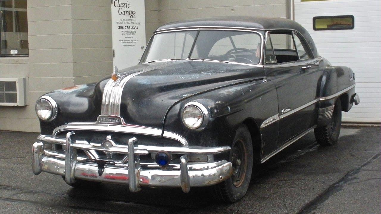 1951 Pontiac Starchief Classic Garage Restoration Part