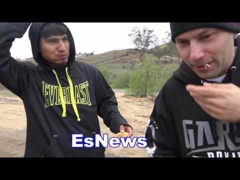 Mikey Garcia Camp Life Check Out His Amazing Home EsNews Box