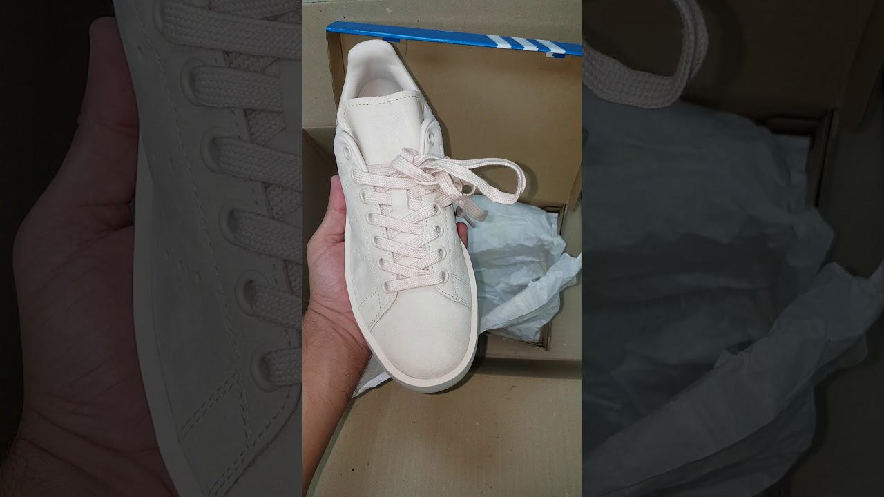 30737268c6a7 Unboxing adidas Originals Stan Smith Suede bold - YouTube