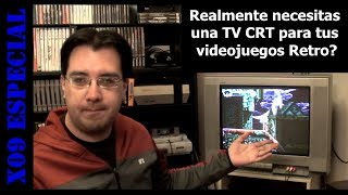 Necesitas una TV CRT para tus juegos Retro?