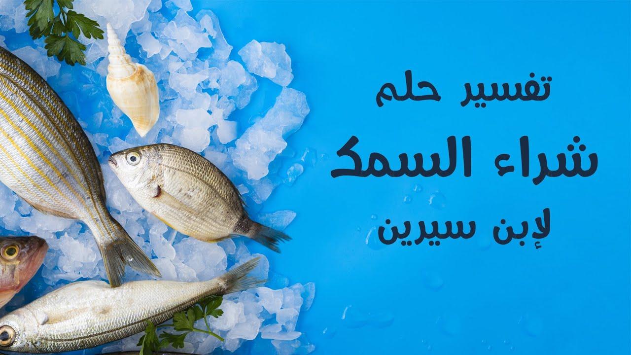 تفسير رؤية حلم شراء السمك في المنام في الخير والشر