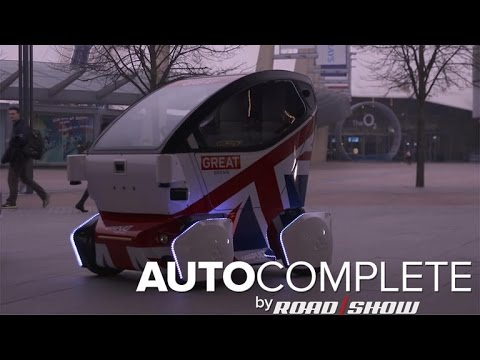 AutoComplete: Self-driving cars arrive in the UK
