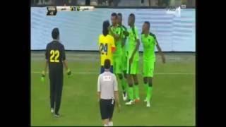 فيديو: رد فعل الملك سلمان لحظة الاعتداء على لاعب الأهلي مهند عسيري