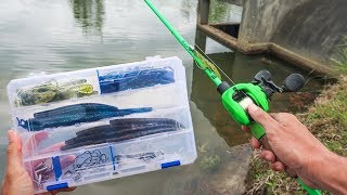 Building My Own $15 WALMART Fishing Kit (BUDGET Challenge)