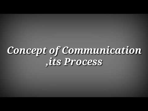 Concept Of Communication. Up Polytechnic