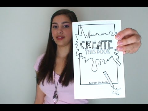 Introducing My New Creativity Journal (Create This Book)
