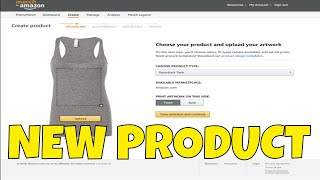 Amazon Merch Rolls Out Tank Tops👕🆕👕