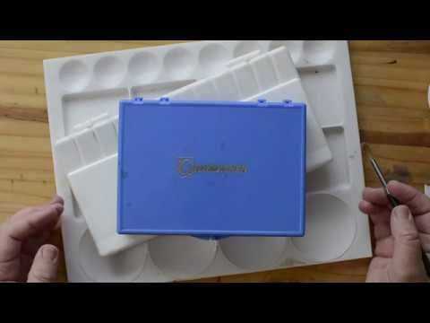 How to Choose Your Watercolor Palette ( Paint Box, Mixing Trays )