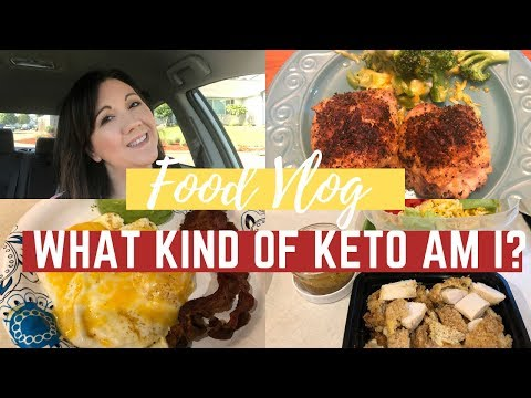 Keto Food Vlog | What Kind Of Keto Am I?! | Journey To Healthy