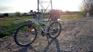 Présentation vélo avec moteur de karting [196cc] + Fail