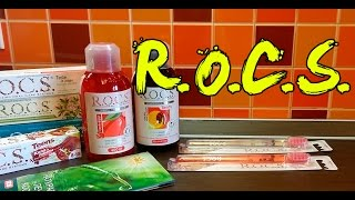 видео Зубная паста рокс (rocs)