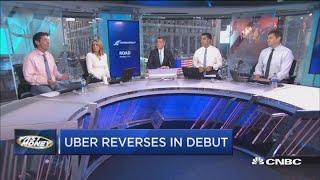 Uber reversing in public debut could be warning for investors