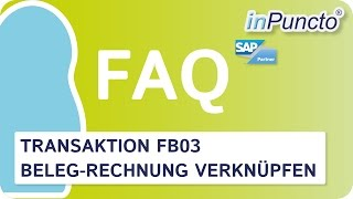 Transaktion FB03 und MIR4 - Fehlererkennung bei eingescannten Rechnungen